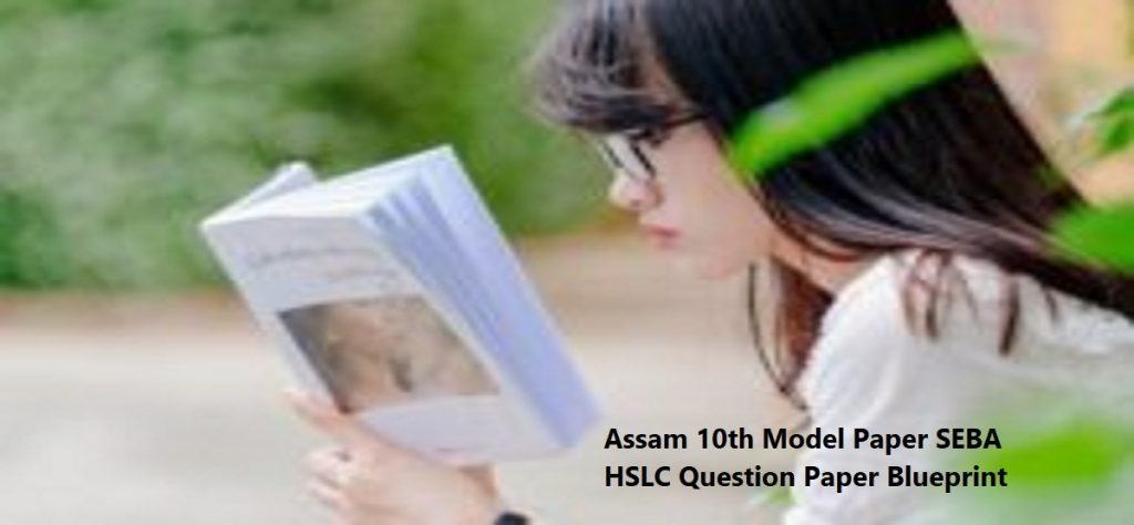 Assam 10th Model Paper 2020 SEBA HSLC Question Paper 2020 Blueprint